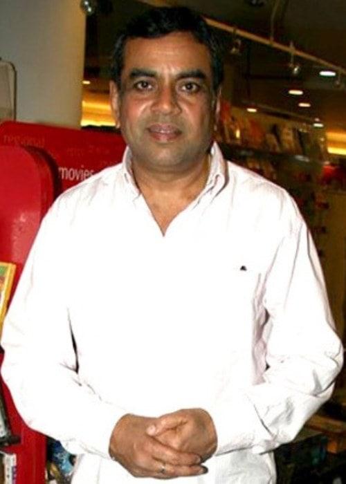 Paresh Rawal as seen in 2012