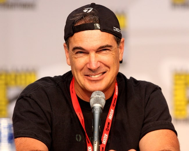 Patrick Warburton as seen on the 'Family Guy' panel at the 2010 San Diego Comic-Con in San Diego, California