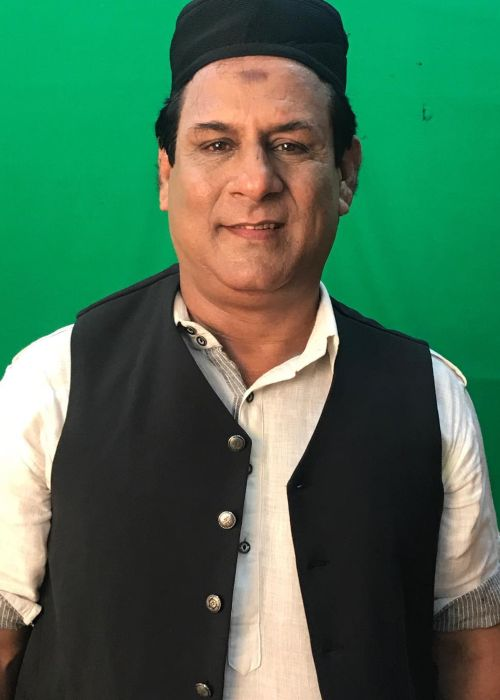 Rajendra Chawla during a shoot in 2018