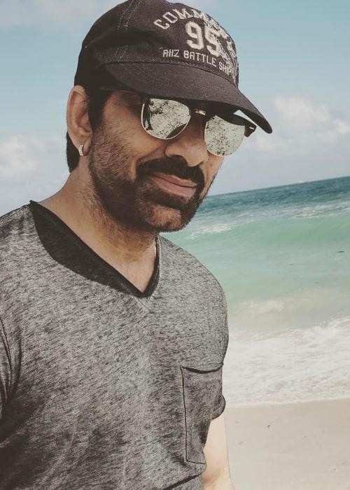 Ravi Teja as seen in an Instagram Post in February 2017