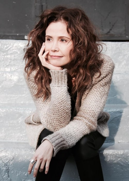 Reiko Aylesworth as seen in a picture taken in Williamsburg in the past