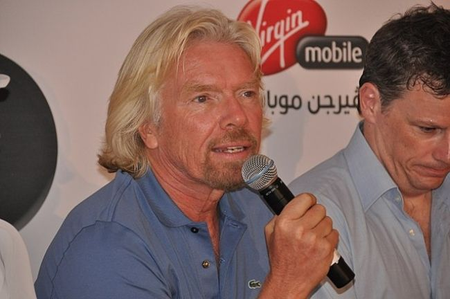 Richard Branson as seen in 2010