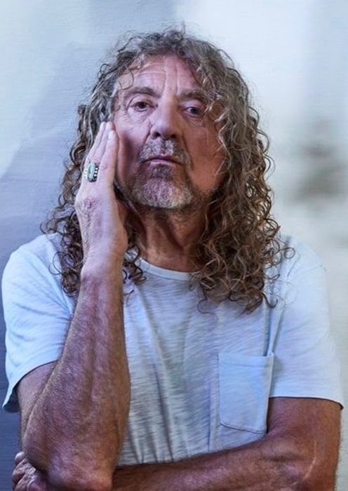 Robert Plant in February 2020 announcing the date for his live recording for the upcoming season of the Digging Deep podcast