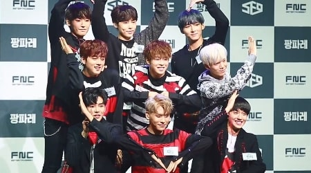SF9 (Band) Members, Tour, Information, Facts