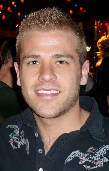 Scott Evans smiling for the camera in March 2010