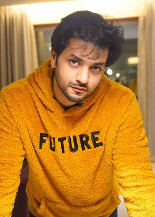 Shakti Arora in an Instagrram post in January 2020