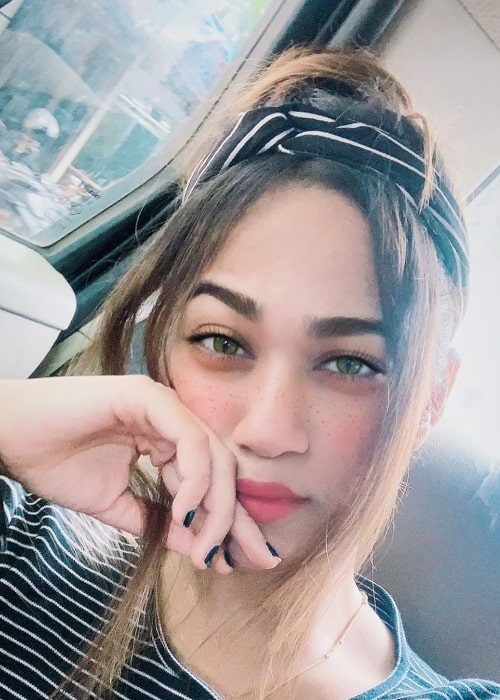 Shriya Jain as seen in a selfie taken in February 2020