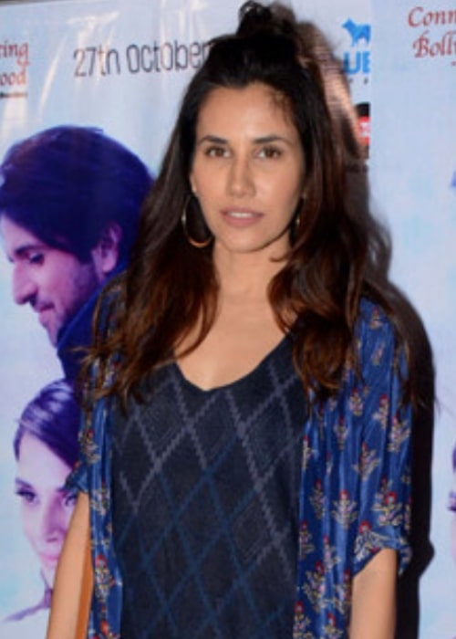 Sonnalli Seygall at the special screening of Jia Aur Jia at PVR in October 2017