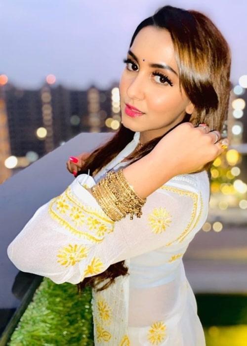 Srishti Jain as seen in a picture taken in January 2020