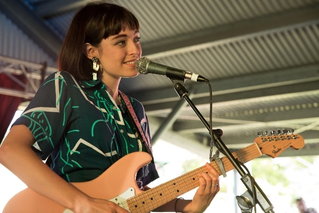 Stella Donnelly as seen while performing in December 2017