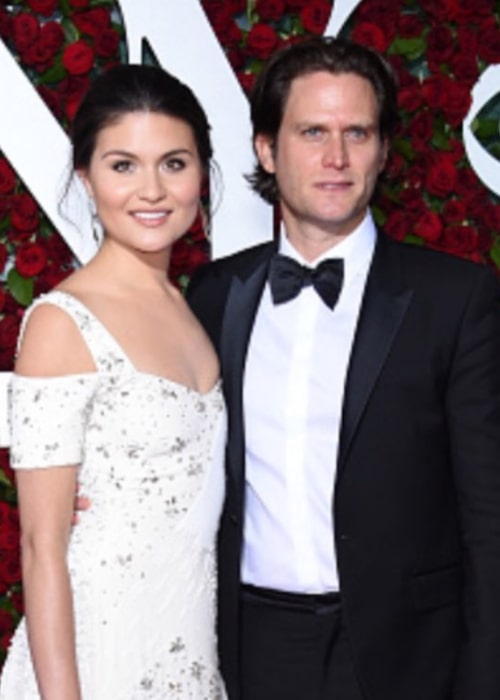 Steven Pasquale and Phillipa Soo, as seen in June 2016