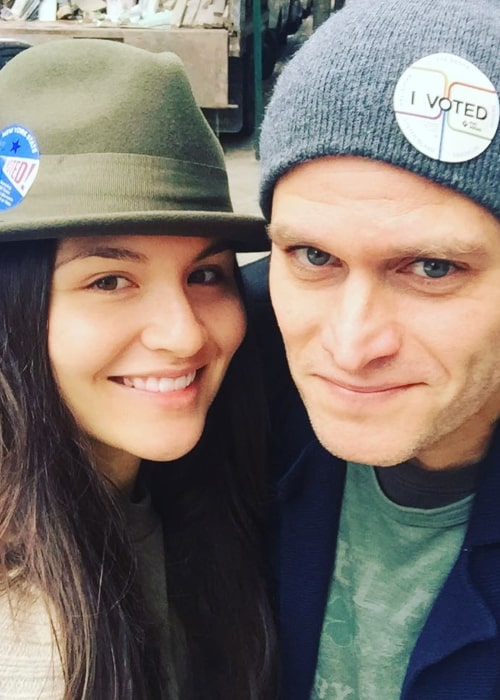 Steven Pasquale and Phillipa Soo, as seen in November 2017