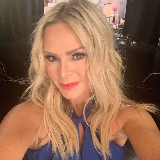 Tamra Judge as seen while taking a selfie in August 2019