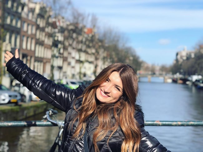 Tenille Townes during a trip to Amsterdam in March 2020