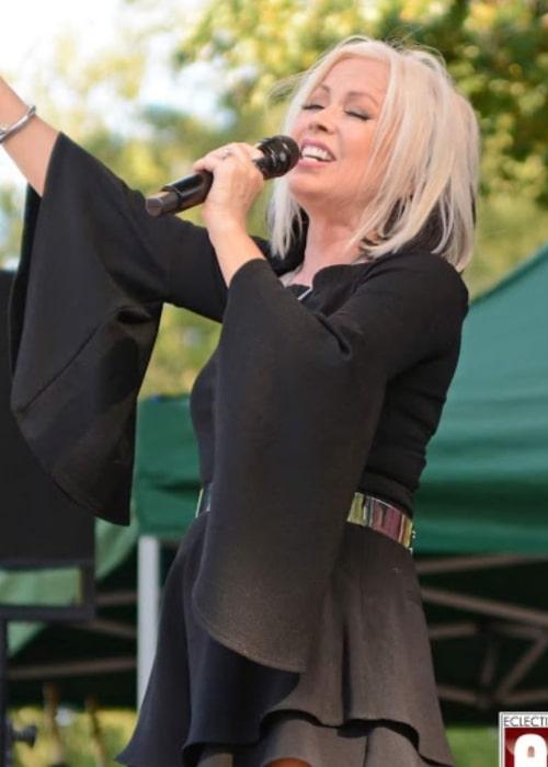 Terri Nunn during a performance in August 2019