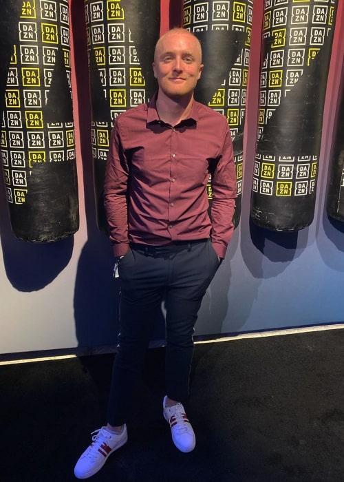Theo Baker as seen in an Instagram Post in January 2020