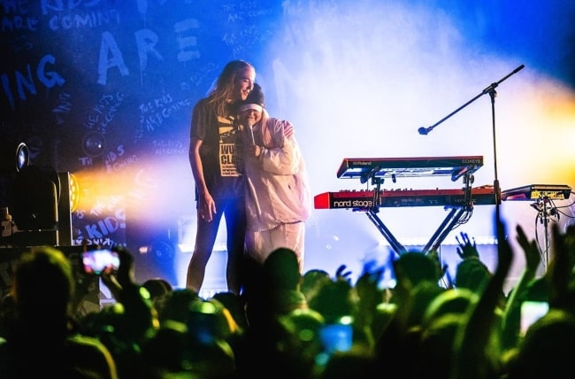 Tones and I as seen on stage in March 2020