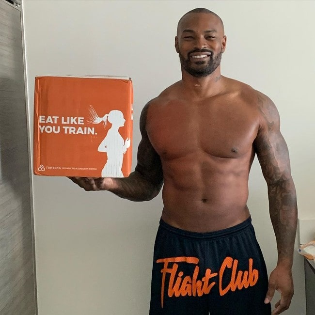 Tyson Beckford as seen in April 2020