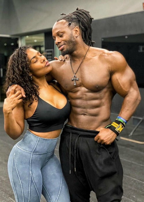 Ulisses Jr and Sharah Maddy as seen in March 2020