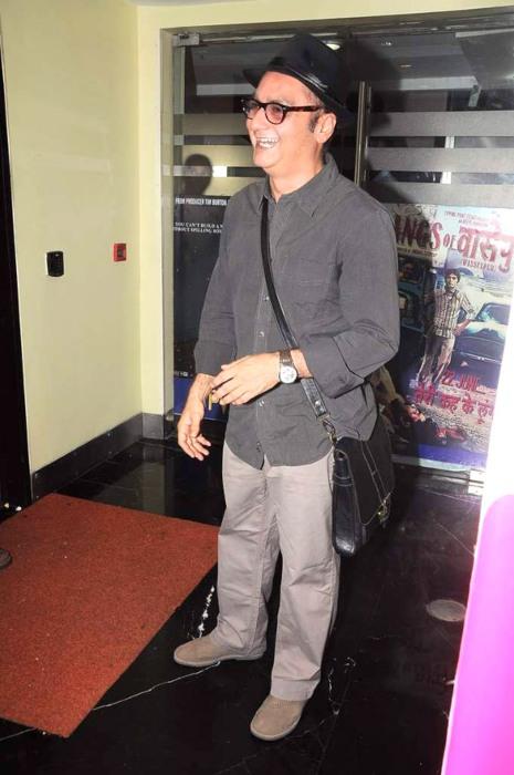 Vinay Pathak during the audio release of his film Maximum in 2012