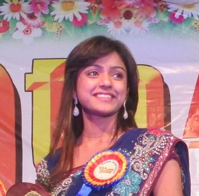 Vithika Sheru at the 9th Annual Day celebrations of Rainbow Concept School in Mahabubnagar in Telangana in February 2014