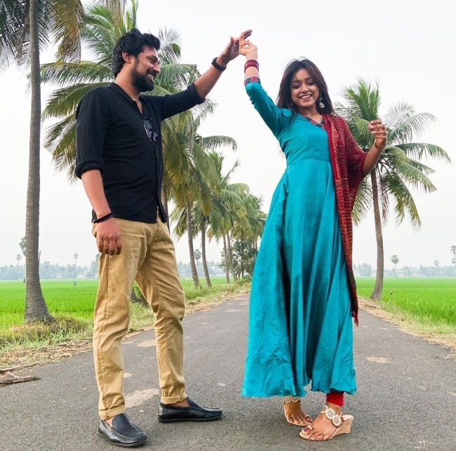 Vithika Sheru having fun dancing with her one and only in January 2020