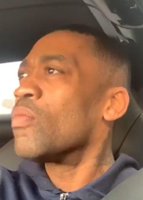 Wiley in an Instagram selfie from February 2020