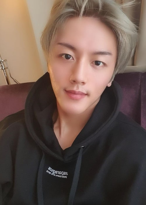 Youngbin as seen in September 2019
