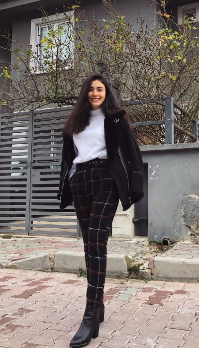 Özge Yağız as seen in January 2019
