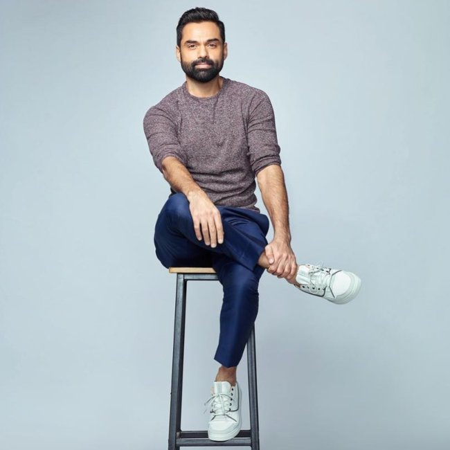 Abhay Deol during a photoshoot in 2019