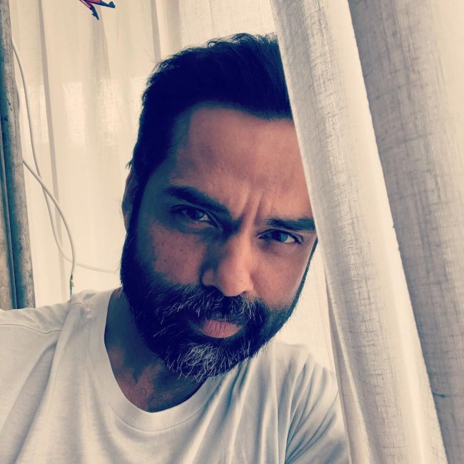 Abhay Deol in a selfie from 2020
