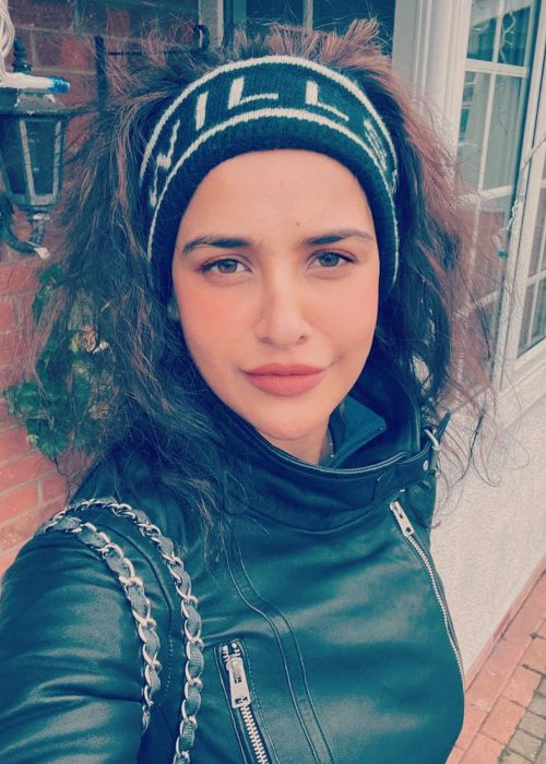 Aisha Sharma in a selfie from December 2019