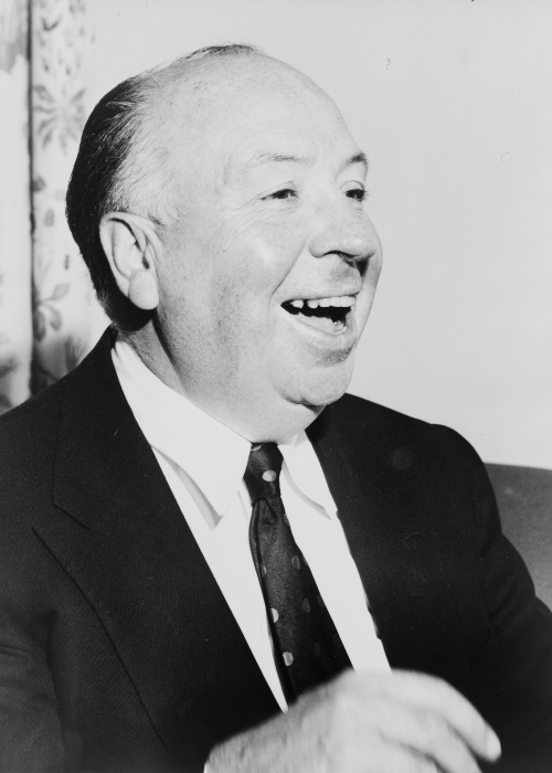 Alfred Hitchcock as seen in 1956