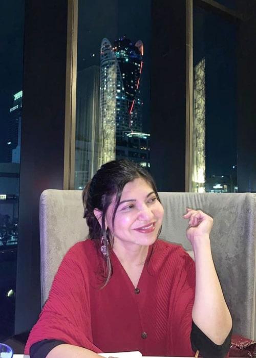 Alka Yagnik as seen in an Instagram Post in January 2020