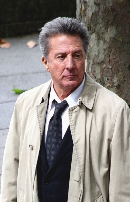 American actor and director Dustin Hoffman