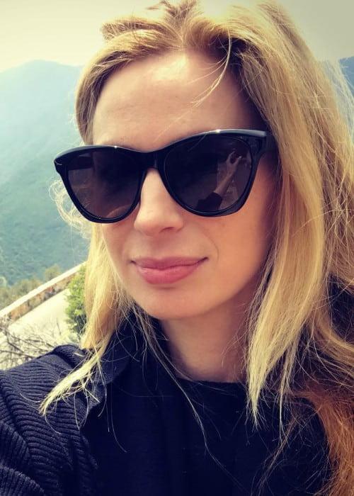 Anne Dudek in an Instagram selfie as seen in May 2018