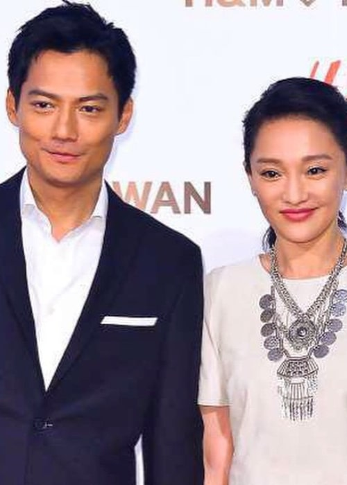 Archie Kao and Zhou Xun, as seen in February 2015