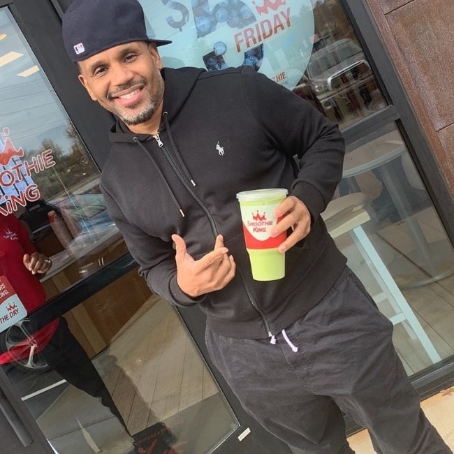 Avant as seen while posing for a picture in Cleveland, Ohio in February 2020