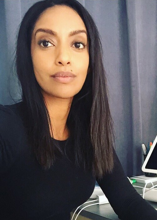 Azie Tesfai as seen while taking a selfie in December 2016