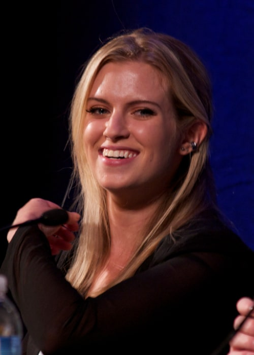 Barbara Dunkelman pictured at PAX Prime 2012, Rooster Teeth Panel
