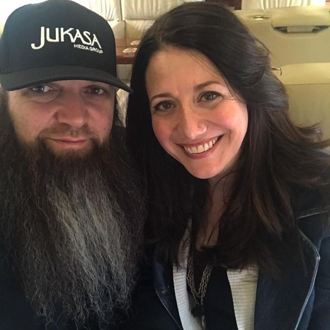 Barry Stock and his wife Heather as seen in January 2019