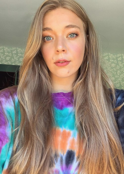 Becky Hill as seen in an Instagram Post in May 2020