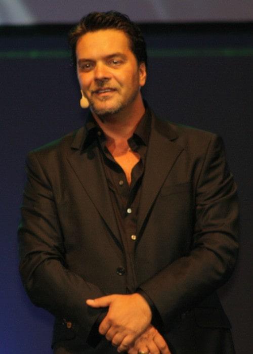 Beyazıt Öztürk during an event in September 2010