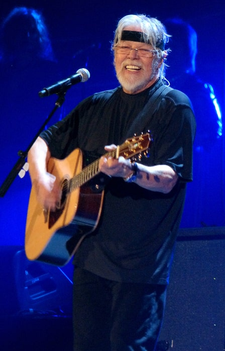 Bob Seger pictured while headlining with Kid Rock at the Fargodome in Fargo, North Dakota in March 2013