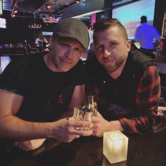 Brad Walst as seen with Neil Sanderson in 2019