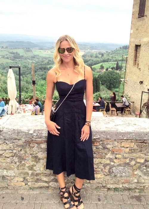 Brittany Daniel as seen in a picture taken in Tuscany in the past