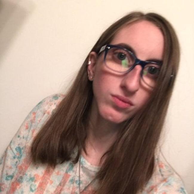 Carolyn Kopp as seen in a selfie that was taken in the past