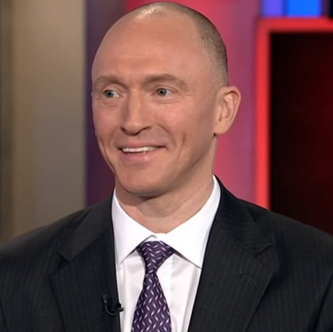 Carter Page as seen in the MSNBC program 'Hardball with Chris Matthews' in June 2017
