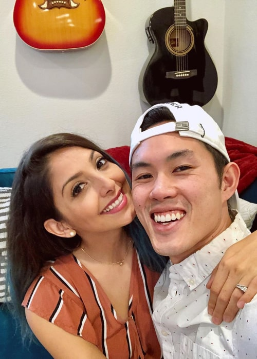 Casey Chan and Tiffany Del Real, as seen in May 2020