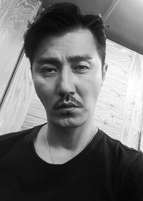 Cha Seung-won as seen in a selfie in November 2017